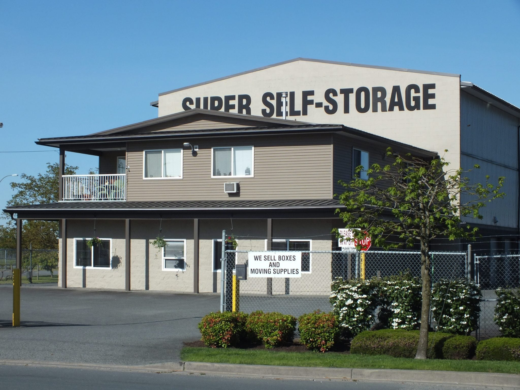 Super Self-Storage on Townline Rd. in Abbotsford
