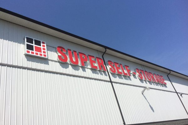 Super Self-Storage building on Townline Rd. in Abbotsford